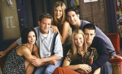 "Data de estreia de especial de ""Friends"""