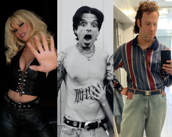 A minissérie contará a história do casal Pamela Anderson e Tommy Lee (Reprodução / Twitter)