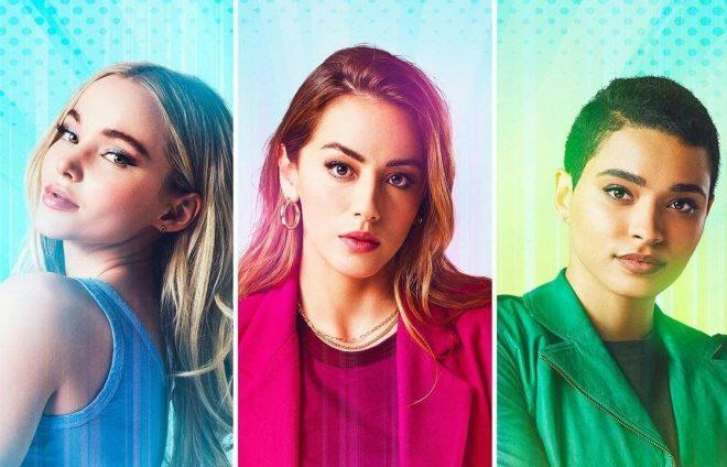 Dove Cameron, Chloe Bennet e Yana Perrault vão interpretar as protagonistas (Reprodução)