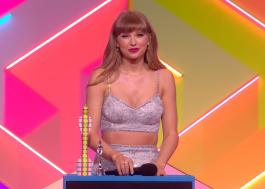 BRIT Awards: Taylor Swift se torna primeira mulher vencedora do prêmio Global Icon