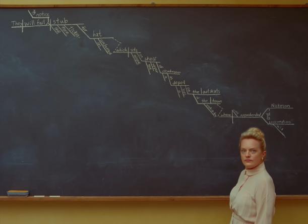 Elisabeth Moss é uma das estrelas do filme (Reprodução / YouTube)