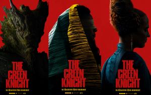 """Personagens de """"The Green Knight"""" ganham misteriosos cartazes individuais"""