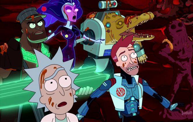 A equipe aparece na 3ª temporada (Reprodução)
