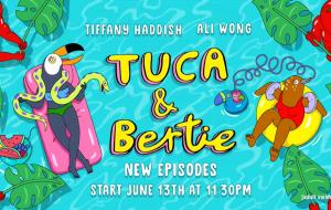 """Teaser da 2ª temporada de """"Tuca & Bertie"""" mostra protagonistas em situações inusitadas"""