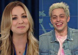 """Kaley Cuoco e Pete Davidson negociam para atuar na comédia romântica """"Meet Cute"""""""