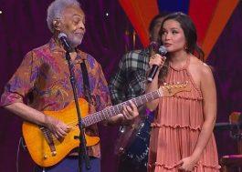 Gilberto Gil canta com Juliette em live junina