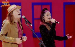 """Em live, Alceu Valença canta """"Anunciação"""" com Juliette"""