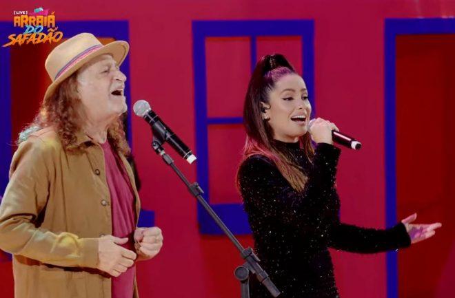 Os dois foram convidados de uma live do Wesley Safadão (Reprodução)