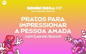 Dando receitas fáceis e bonitas para impressionar a pessoa amada com Luanda Gazoni