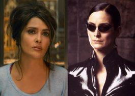 "Salma Hayek conta que perdeu papel em ""Matrix"" na etapa de teste físico"