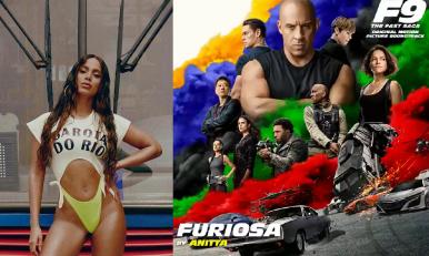 "Anitta lança single para ""Velozes e Furiosos 9"""