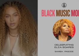 Elza Soares é homenageada por projeto social de Beyoncé