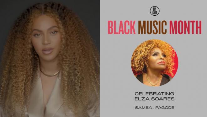 Tributo foi realizado em comemoração ao mês da música negra (Reprodução)