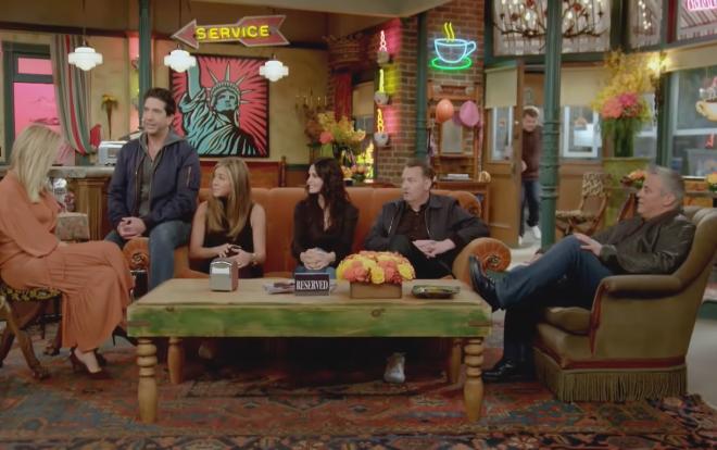 """O especial """"Friends: The Reunion"""" foi lançado em maio pela HBO Max (Reprodução / YouTube)"""