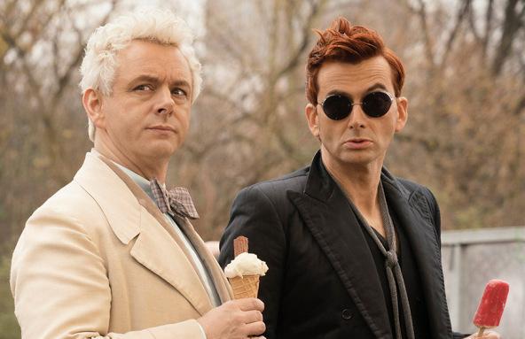 Michael Sheen e David Tennant retornam como protagonistas (Reprodução)