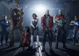 """Square Enix anuncia jogo de """"Guardiões da Galáxia"""" com trailer e vídeo de gameplay"""