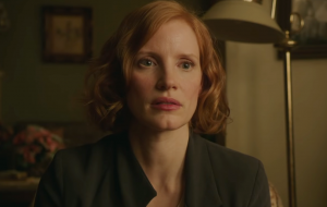 "Jessica Chastain revela caracterização para cinebiografia ""The Eyes of Tammy Faye"""