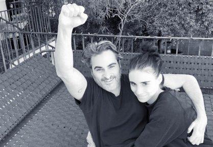 Joaquin Phoenix e Rooney Mara juntos em novo filme