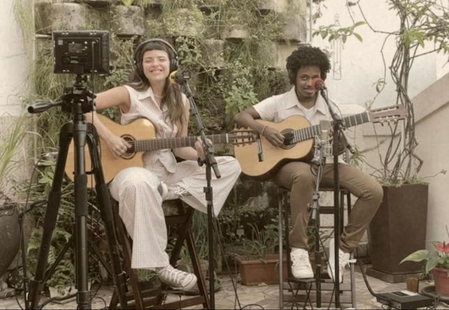 "Artista cantará faixas de ""GEMINIS"", último álbum (Foto: Giovana Chou)"
