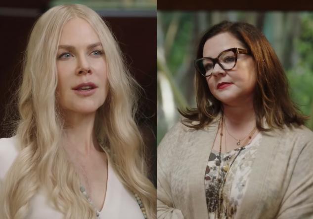 As atrizes Nicole Kidman e Melissa McCarthy protagonizam a trama (Reprodução / YouTube)