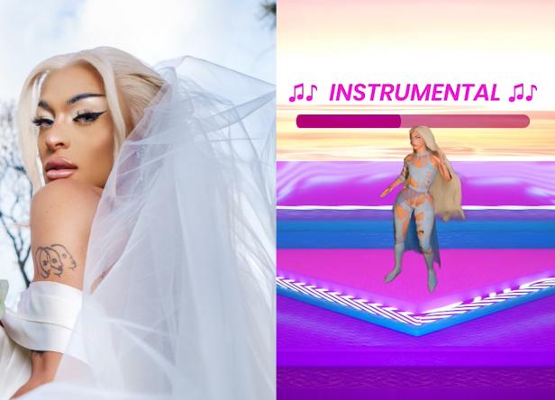 A faixa funciona como carro-chefe do novo álbum da drag (Ernna Cost / Divulgação; Reprodução / YouTube)