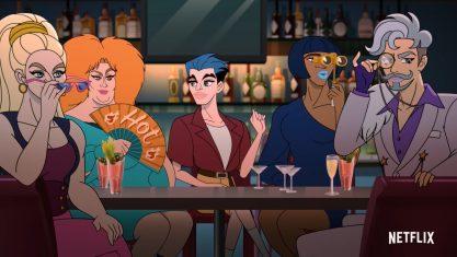 Netflix libera trailer de série com espiões queer
