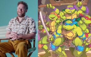 Seth Rogen vai lançar filme animado das Tartarugas Ninja