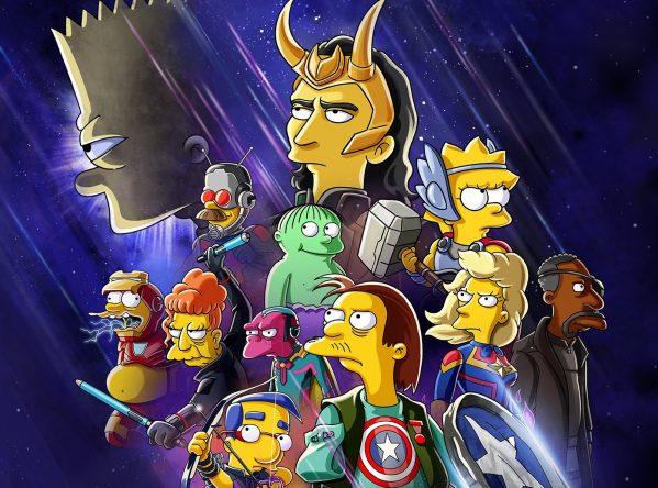 """""""The Good, The Bart, and The Loki"""" estreia em 7 de julho na Disney+ (Divulgação)"""