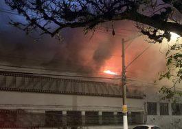 Incêndio atinge depósito da Cinemateca Brasileira, em São Paulo