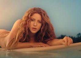"""Shakira se diverte com diretor nos bastidores do clipe de """"Don't Wait Up""""; assista"""