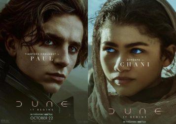 """Novos cartazes de """"Duna"""""""