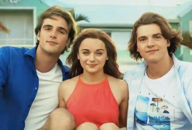 Jacob Elordi, Joey King e Joel Courtney vivem os personagem (Divulgação/Netflix)