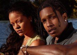 Rihanna e A$AP Rocky são vistos filmando projeto secreto em Nova York