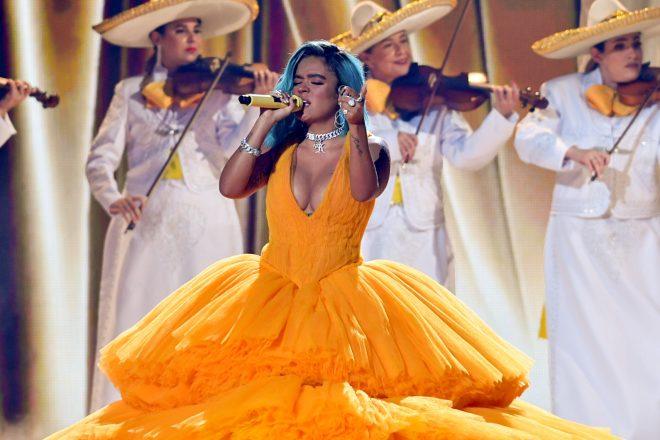 Premiação teve transmissão direta da Flórida, nos Estados Unidos (Foto: Getty Images)