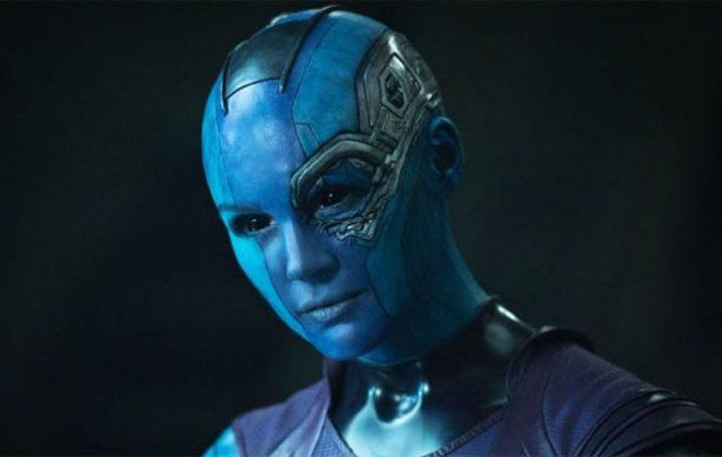 A atriz interpreta Nebula na trilogia (Reprodução)