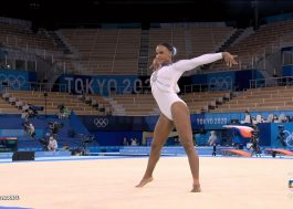 """Tóquio 2020: Rebeca Andrade leva """"Baile de Favela"""", de MC João, para competição da ginástica"""