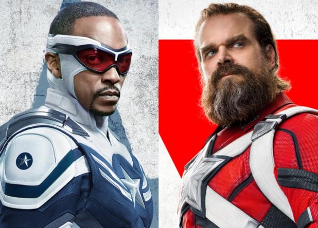 """Os dois estrelaram recentes projetos da Marvel, """"Falcão e o Soldado Invernal"""" e """"Viúva Negra"""" (Divulgação)"""