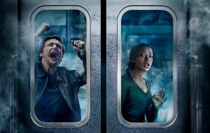 """Desespero e angústia assombram personagens em novo cartaz de """"Escape Room 2 – Tensão Máxima"""""""