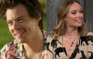 Harry Styles e Olivia Wilde são vistos aos beijos na Itália