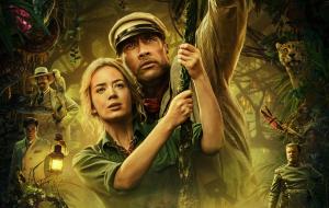 """Emily BlunteDwayne Johnson detalham experiência em filmar """"Jungle Cruise"""" em vídeo de bastidores"""