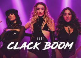 """Trio KATZ embarca em tendências do TikTok no imponente clipe de """"Clack Boom"""""""