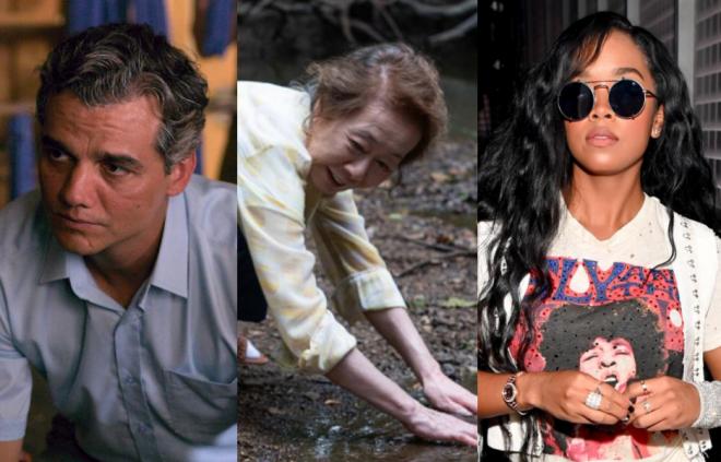 Aceitando o convite, os artistas viram votantes do Oscar (Netflix / Divulgação; Melissa Lukenbaugh / A24 / Divulgação; Getty Images)