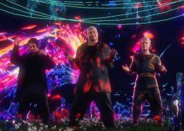 """WC no Beat, Kevin O Chris e DJ GBR comandam rave psicodélica no clipe animado de """"Se Concentra"""""""