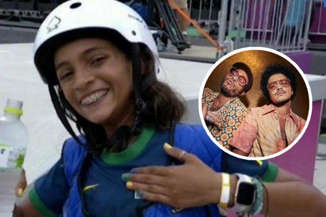 A skatista brasileira tem apenas 13 anos (Reprodução)