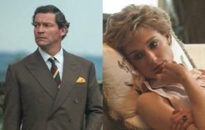 """""""The Crown"""": novas fotos da 5ª temporada mostram príncipe Charles e princesa Diana"""