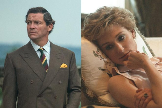 Dominic West e Elizabeth Debicki interpretam os personagens (Divulgação)