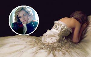 Kristen Stewart estampa pôster deslumbrante de filme sobre princesa Diana