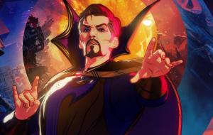 """Doutor Estranho Supremo estampa cartaz do 4º episódio de """"What If…?"""""""