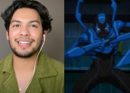 """Xolo Maridueña, de """"Cobra Kai"""", será o herói Besouro Azul nos cinemas"""