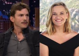 """Ashton Kutcher vai contracenar com Reese Witherspoon em """"Your Place or Mine"""", diz site"""